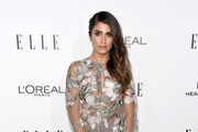 Nikki Reed Sheer Dress