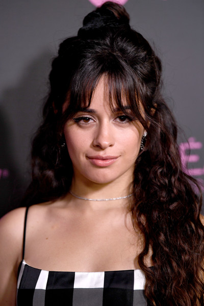 Camila Cabello kept her styling simple with this delicate diamond choker.