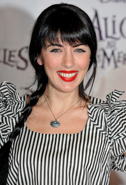 Nolwenn Leroy Long Braided Hairstyle
