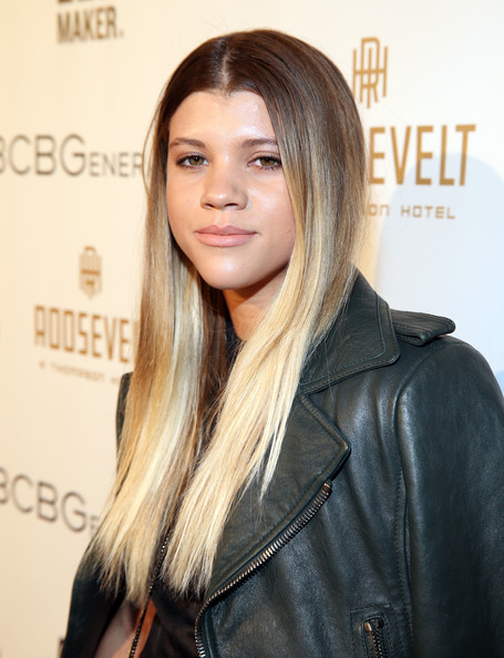 More Pics of Sofia Richie Ombre Hair (1 of 2) - Long Hairstyles Lookbook - StyleBistro