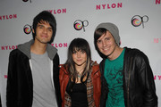 VersaEmerge attends the Nylon Magazine Official After-Party For Cobra Starship & Boys Like Girls OP Fall Music Tour at 1OAK on November 24, 2009 in New York City.
