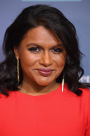 Mindy Kaling looked sweet with her shoulder-length curls at the special NYC screening of 'A Wrinkle in Time.'