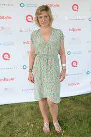 Amy Carlson's delicate floral frock was a summery choice for OCRF's Super Saturday event.