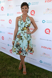 Diem Brown had us in the mood for vacay when she donned this tropical paradise-appropriate floral frock!