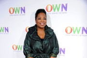 Oprah Winfrey arrives at OWN: Oprah Winfrey Network's 2011 TCA Winter Press Tour Cocktail Party at the Horseshoe Gardens at the Langham Hotel on January 6, 2011 in Pasadena, California.