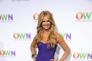 TV Personality Nancy O'Dell arrives at OWN: Oprah Winfrey Network's 2011 TCA Winter Press Tour Cocktail Party at the Langham Hotel on January 6, 2011 in Pasadena, California.