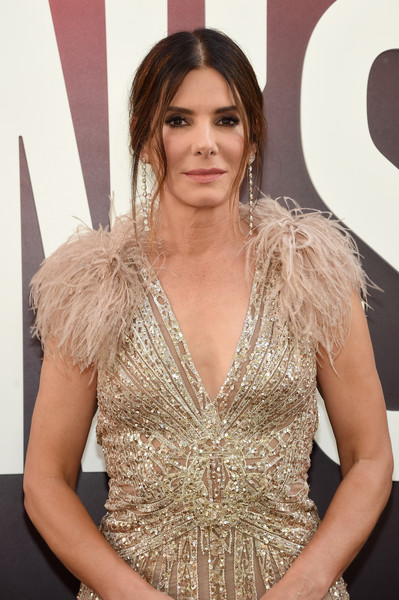 More Pics of Sandra Bullock Sequin Dress (1 of 15) - Dresses & Skirts Lookbook - StyleBistro