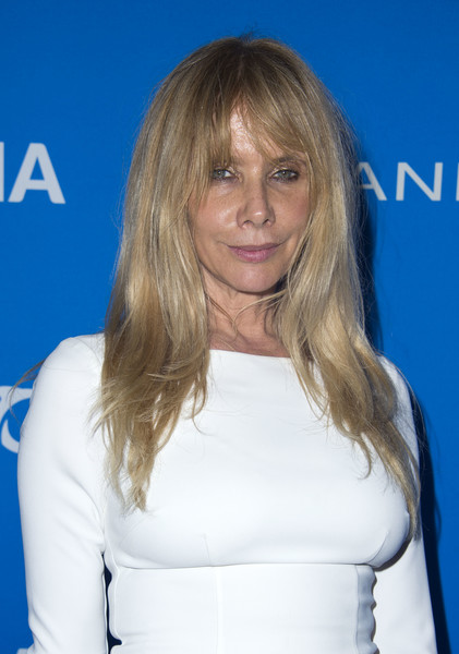 Rosanna Arquette framed her face with this messy-chic layered cut for the Oceana: Sting Under the Stars event.