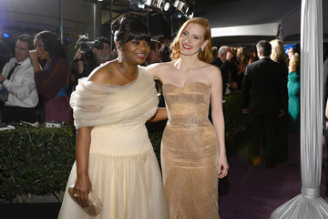 Octavia Spencer Jessica Chastain 85th Annual Academy Awards - Governors Ball
