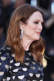 Julianne Moore wore her hair in boho-glam waves at the Cannes Film Festival screening of 'Okja.'