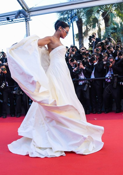 Rihanna in Dior at the 2017 Cannes Film Festival