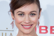 Olga Kurylenko Gemstone Chandelier Earrings