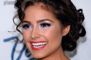 Olivia Culpo Pinned Up Ringlets