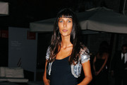 Olivia Magnani Long Straight Cut with Bangs