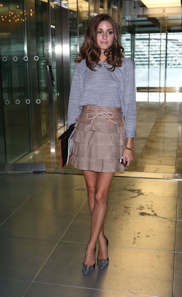 Olivia Palermo Mini Skirt