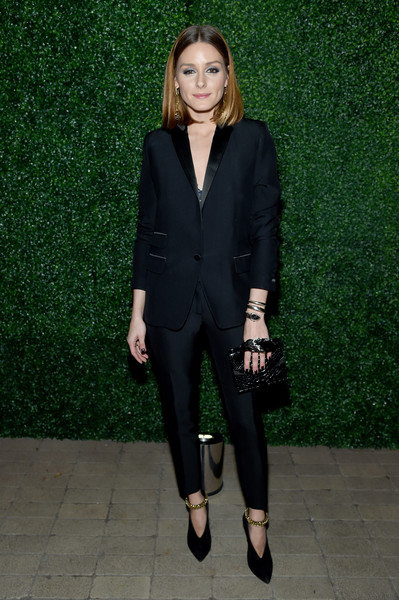 Olivia Palermo Evening Pumps [clothing,suit,formal wear,pantsuit,blazer,outerwear,tuxedo,fashion,fashion model,dress,olivia palermo,dinner,always sparkling,new york city,ruffino wines]