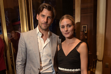 Olivia Palermo Johannes Huebl The Cartier Fifth Avenue Grand Reopening Event