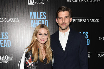 Olivia Palermo Johannes Huebl The Cinema Society with Ketel One and Robb Report Host a Screening of Sony Pictures Classics' 'Miles Ahead' - Arrivals