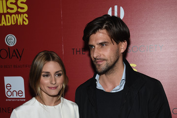 "Olivia Palermo Johannes Huebl The Cinema Society & Olay Host A Screening Of Entertainment One's ""Miss Meadows"" - Arrivals"