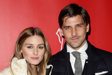 Olivia Palermo Johannes Huebl Moncler Grenoble Fall/Winter 2015 - Arrivals