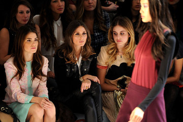Olivia Palermo Nikki Reed Jill Stuart - Front Row - Fall 2012 Mercedes-Benz Fashion Week
