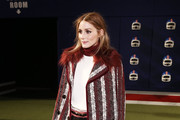 Olivia Palermo Tweed Coat
