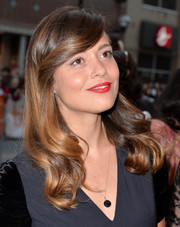 Valeria Bilello charmed with this retro-chic hairstyle during the premiere of 'One Chance.'