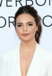 Bailee Madison sported a punk-chic ponytail at the premiere of 'Mother's Day.'