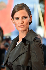 Bianca Balti pulled her hair back into sleek, low ponytail for the Venice Film Festival opening ceremony.