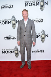 Head-to-toe plaid is usually a lot of look for most people but Jesse Tyler Ferguson pulled off this suit with style.