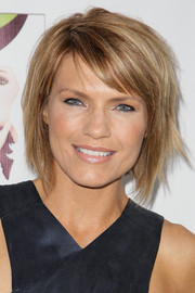 Kathleen Rose Perkins looked trendy with her layered razor cut at the opening of 'Wicked.'