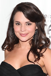 Rosanna Pansino was all too elegant at the opening night of 'Hair.' The actress styled her brunette locks into soft curls.