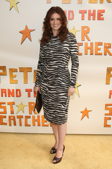 More Pics of Debra Messing Print Dress (1 of 9) - Debra Messing Lookbook - StyleBistro