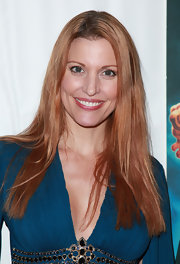 Rachel York showed off her long straight locks while hitting the red carpet.