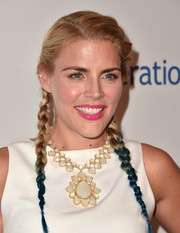 Busy Philipps was a total cutie with her dip-dyed pigtail braids at the Smile Gala.