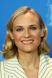 Diane Kruger gave us vintage vibes with her short wavy 'do at the Berlinale photocall for 'The Operative.'