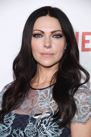 Laura Prepon looked pretty with her face-framing waves at the New York premiere of 'Orange is the New Black.'
