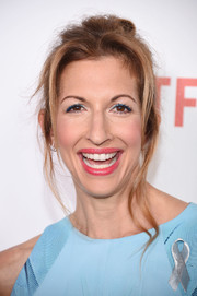 Alysia Reiner worked a messy updo at the New York premiere of 'Orange is the New Black.'