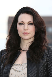 Laura Prepon's full waves looked very pretty during the 'Orange is the New Black' photocall.