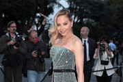 Ornella Muti Strapless Dress