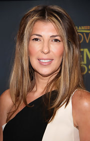 Nina Garcia kept it simple with a shoulder-length center-parted 'do during an appearance on 'Good Morning America.'