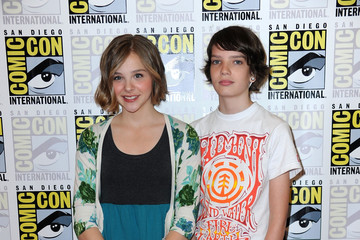"Kodi Smit-McPhee Chloe Grace Moretz Overture ""Let Me In"" Press Conference - Comic-Con 2010"