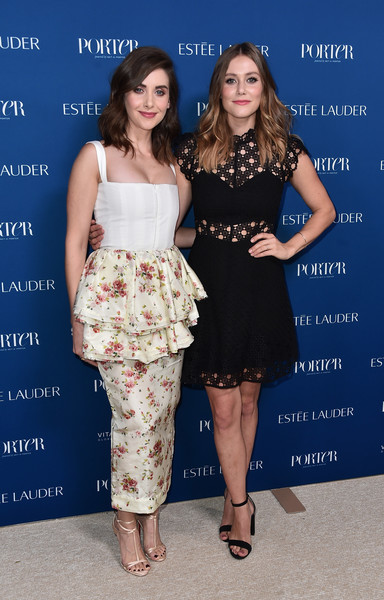 More Pics of Alison Brie Strappy Sandals (1 of 9) - Alison Brie Lookbook - StyleBistro [clothing,dress,fashion,cocktail dress,shoulder,fashion model,hairstyle,premiere,fashion design,joint,incredible women gala 2018 - arrivals,porter,alison brie,julianna guill,ebell,los angeles,california,incredible women gala]