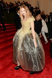 Lily Cole's custom rubber dress showed off the model's edgy, risk-taker side at the 2013 Met Gala.