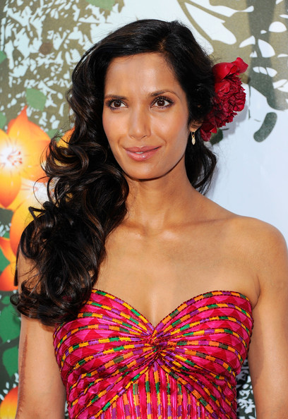 Padma Lakshmi Long Curls