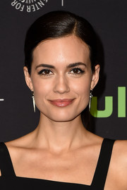 Torrey Devitto attended PaleyFest LA wearing a neat and demure ponytail.