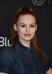 Madelaine Petsch worked a sleek, high ponytail during PaleyFest Los Angeles.