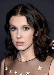 Millie Bobby Brown showed off perfectly styled shoulder-length curls during PaleyFest Los Angeles.