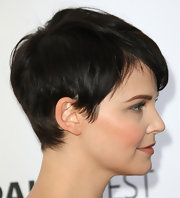 Ginnifer Goodwin looked adorable at PaleyFest 2012 wearing her hair in her signature pixie cut.