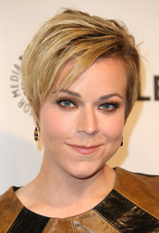 Tina Majorino was a rockstar with her layered razor cut at the PaleyFest 2014 event honoring 'Veronica Mars.'